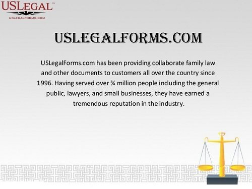 U.S. Legal Forms Collaborate Family Law