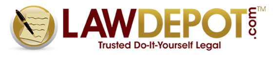 Red/Gold Law Depot Logo