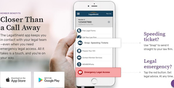 Legal Shield Mobile App