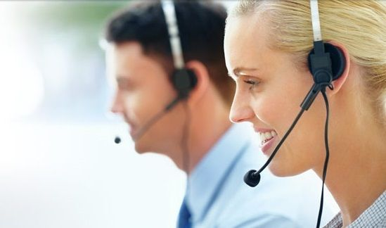 Male And Female Customer Support